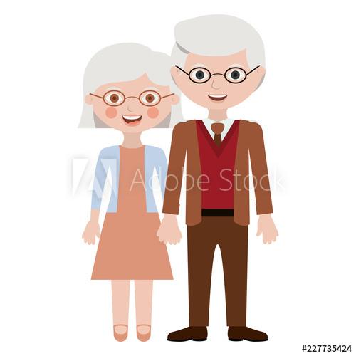 M & Mme Jacques et Agnès-V 70 et 68 ans